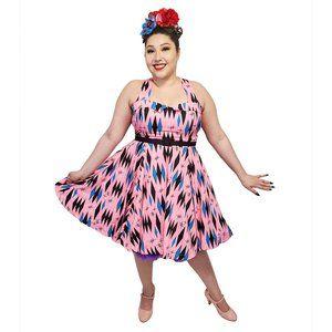 Sourpuss Bubblegum Diamond Veronica Dress